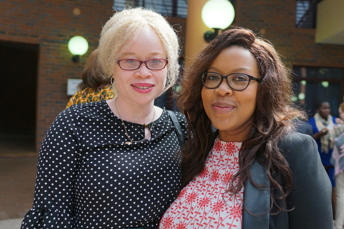 Capacitating frontline organisations working to advance the rights of persons with albinism in Africa