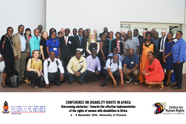 2014: Women with Disabilities in Africa Conference