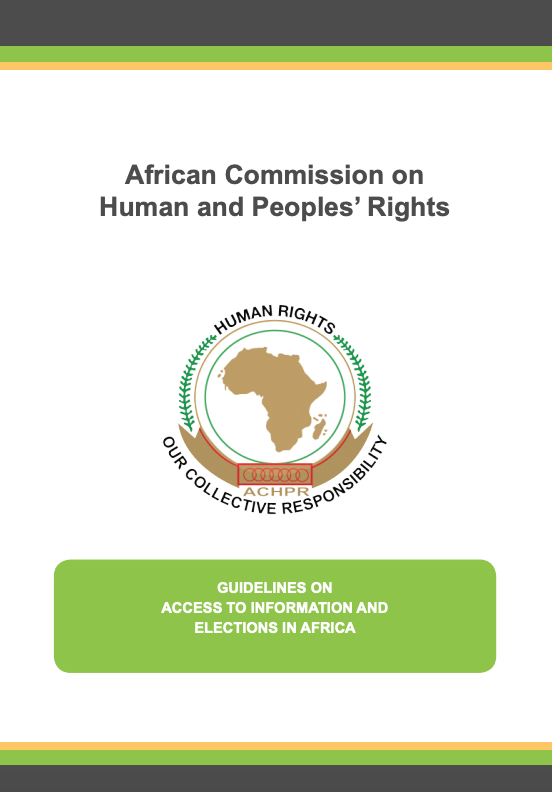 Guidelines on  ATI  & Elections in Africa (EN)