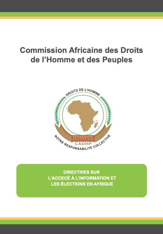 Guidelines on  ATI  & Elections in Africa (FR)