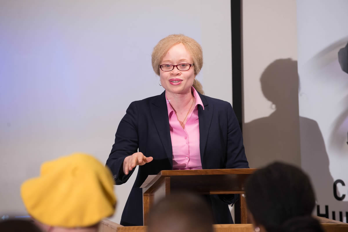 Launch of the Regional Action Plan on Albinism in Africa (2017-2021) online platform: Working toward an inclusive world free discrimination