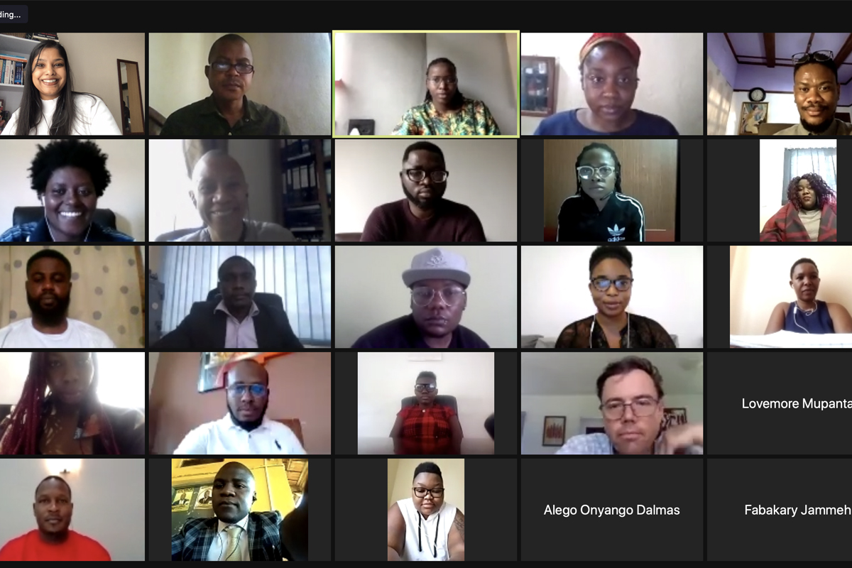strategic litigation and advocacy for LGBTI+ human rights defenders in Africa